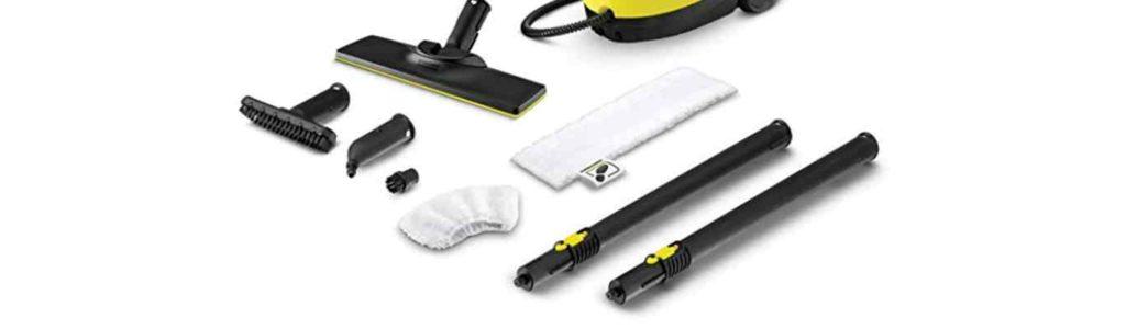 quels accessoires acheter avec son nettoyeur vapeur